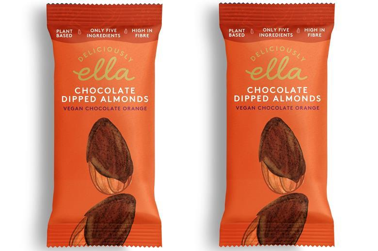 Deliciously Ella Chocolate Dipped Almonds